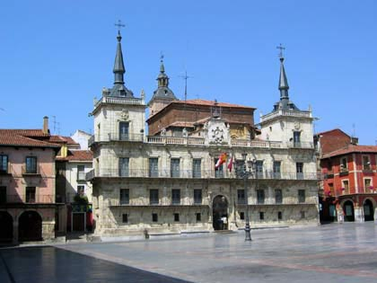 Plaza Mayor León