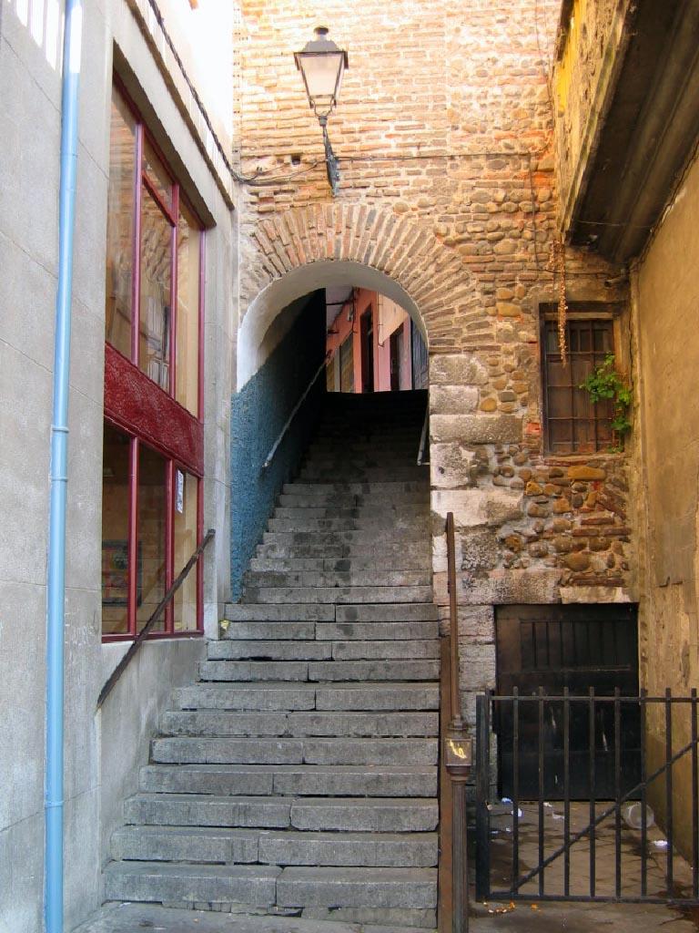 Escaleras Puerta Sol
